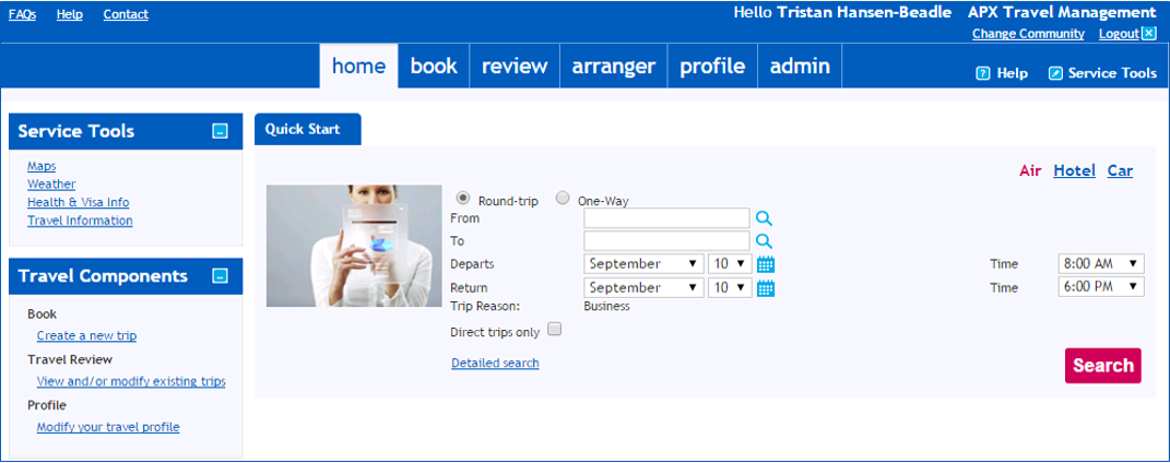 Online Travel Booking Tools: Amadeus, Serko and Concur