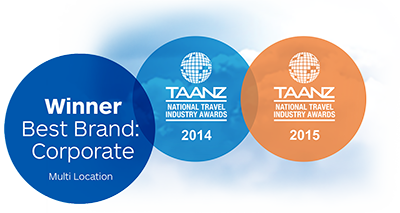 TAANZ National Travel Industry Awards - Best Brand Corporate